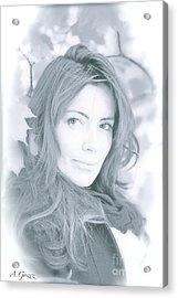 Snow Queen. Acrylic Print