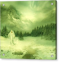 Snow Queen Acrylic Print by Ester  Rogers