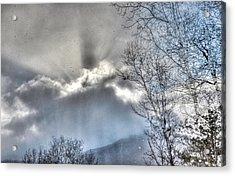 Acrylic Print featuring the photograph Snow Rays by Craig T Burgwardt