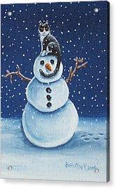 Snow Stormie Acrylic Print