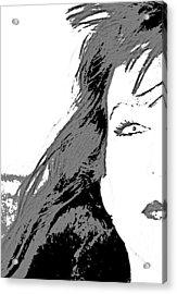 Snow White Acrylic Print by Joe Serrano