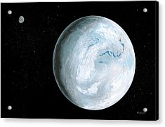 Snowball Earth Acrylic Print by Richard Bizley
