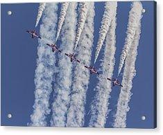 Snowbird Aerobatics Acrylic Print