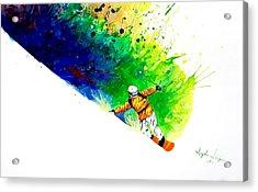 Snowboarder 1 Acrylic Print