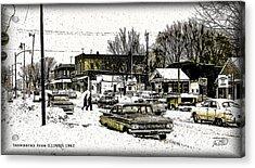 Snowbound Acrylic Print