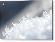 Snowflake 13 Acrylic Print by Becky Lodes