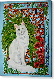 Snowi's Garden Acrylic Print by Leena Pekkalainen