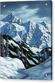 Snowpack Acrylic Print by Rick Bainbridge