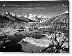 Snow's Marina Acrylic Print
