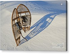 Snowshoes I Acrylic Print