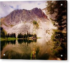 Snowy Mountains Loop 2 Acrylic Print by Marty Koch