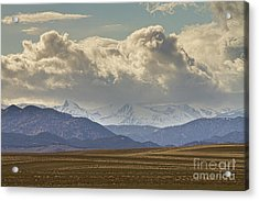 Snowy Rocky Mountains County View Acrylic Print by James BO  Insogna
