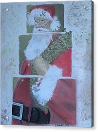S'nta Claus Acrylic Print