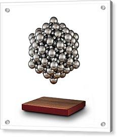Snub Dodecahedron Acrylic Print by Raul Gonzalez