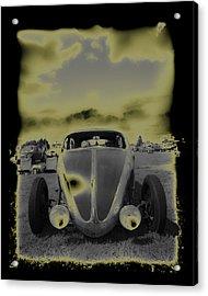 So Cal Vw Acrylic Print by Steve McKinzie