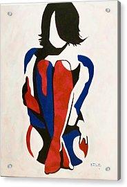 So Cold Acrylic Print by Rute Santos