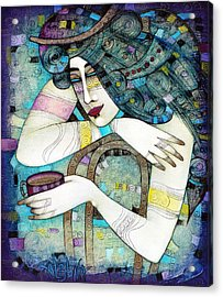 So Many Memories... Acrylic Print by Albena Vatcheva