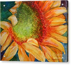 Soaking Up The Sun Acrylic Print by Terri Maddin-Miller