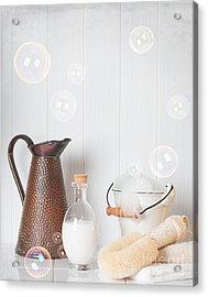 Soap Suds Acrylic Print