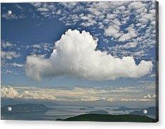 Soaring Cloud Acrylic Print by Jim Gillen