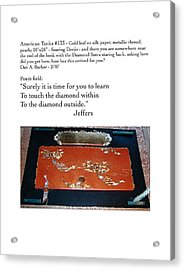 Soaring Dorjis Acrylic Print by Dan A  Barker