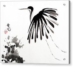 Soaring High Acrylic Print by Oiyee At Oystudio