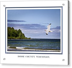 Soaring Over Door County Acrylic Print