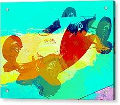 Socal Acrylic Print by Naxart Studio