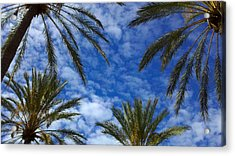 Acrylic Print featuring the photograph So Cal Sky by Richard Stephen