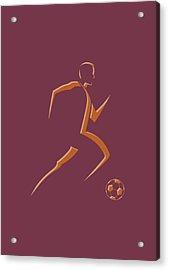 Soccer Player4 Acrylic Print