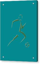 Soccer Player7 Acrylic Print by Joe Hamilton