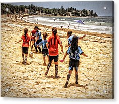 Soccer Tournament Acrylic Print