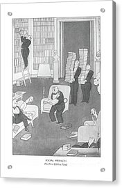 Social Menaces  The First-edition Fiend Acrylic Print