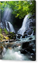 Acrylic Print featuring the photograph Soco Falls by Serge Skiba
