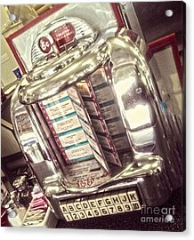Soda Fountain Juke Box Acrylic Print