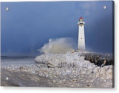 Sodus Bay Lighthouse Acrylic Print by Everet Regal