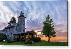 Sodus Bay Lighthouse Acrylic Print
