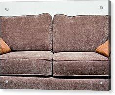 Sofa Acrylic Print by Tom Gowanlock