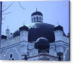 Sofia Synagogue In Bulgaria Acrylic Print