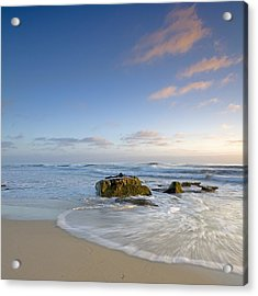 Soft Blue Skies Acrylic Print by Peter Tellone