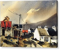 Soft Day In Achill Mayo Acrylic Print