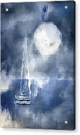 Soft Mystic Acrylic Print by Melissa Smith