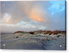 Acrylic Print featuring the photograph Soft Sun Rise by Allen Carroll