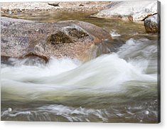 Soft Water Acrylic Print