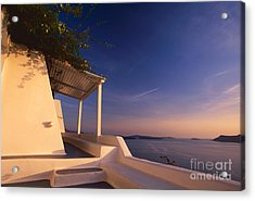 Soft Wind Acrylic Print by Aiolos Greek Collections