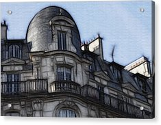 Softer Side Of Paris Architecture Acrylic Print