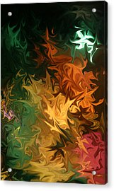Acrylic Print featuring the digital art Soild Water 1 by Joel Loftus