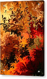 Soild Water 6 Acrylic Print by Joel Loftus