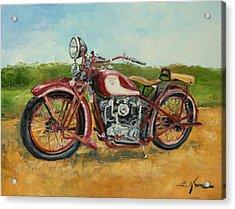Sokol 1000 - Polish Motorcycle Acrylic Print