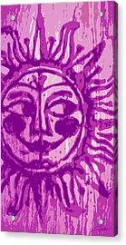Sol - Fuschia Acrylic Print